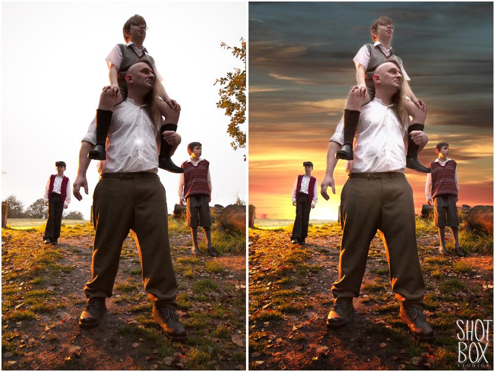 ShotBoxStudios-Fashion-Photography-Studio-Birmingham-Lens-Flare-Bokeh-backlit-tutorial-composite